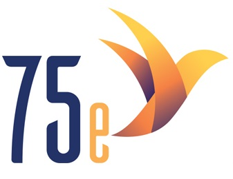 logo 75 th anniversary